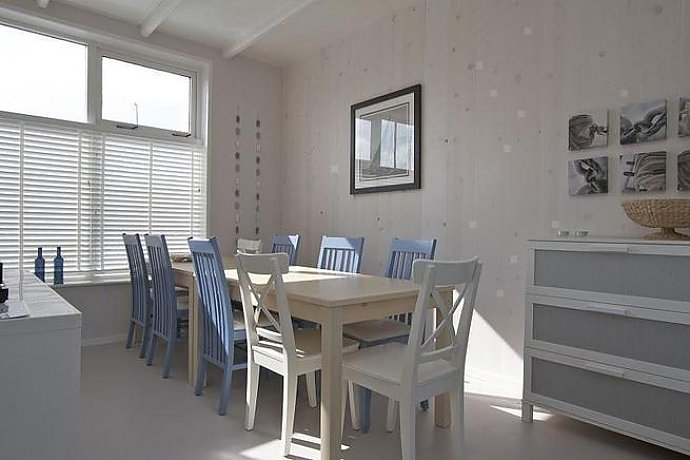 Ferienhaus Am Strand Holland Enkhuizen 12 Personen   Der Essplatz
