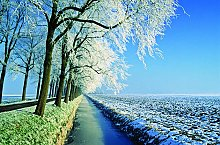 Ferienhaus Holland - Winterlandschaft Holland